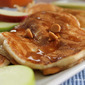 Apple Butterscotch Chip Pancakes