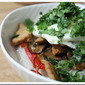 Gluten Free Asian Pork with Rice Noodles