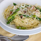 Ham and Asparagus Spaghetti