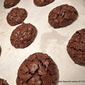 CHOCOLATE and Walnut cloud cookie crackles