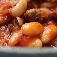 Pata with Beans