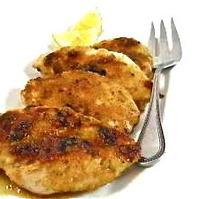 Skinny Lemon Glazed Chicken, Sweet and Sassy
