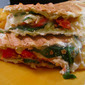 Lemon Chicken and Spinach Paninis