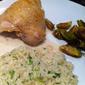 Lyonnaise Chicken with Vinegar Sauce
