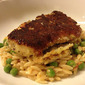 Orzo With Tomatoes and Peas