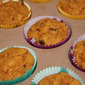 Pumpkin Chocolate Chip Muffins (Under 100 Calories Each)