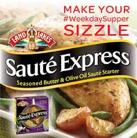 #WeekdaySupper Fish Tacos with Garlic-Lime Crema...Featuring Land O Lakes ® #SautéExpress® Sauté Starter