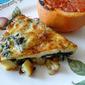 Potato & Spinach Fritata