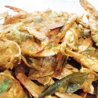 Spicy crab gravy