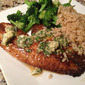 Blackened Tilapia with Cilantro Lime Butter