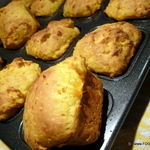 Sweet Potato and Sour Cream bread buns - No Knead
