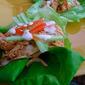 Crockpot Buffalo Chicken Lettuce Wraps