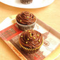 Eggless Hershey's 'Prefectly Chocolate' Chocolate Cupcakes