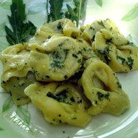 Tortellini with arugula pesto