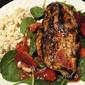 Easy Saturday Night Supper: Strawberry Chicken Salad with Grilled Chicken