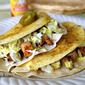 Crispy Chicken Tacos with Jalapeno Slaw