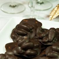 Almonds in dark chocolate