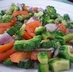 Ensaladang Ampalaya (Bitter Melon Salad)