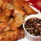 Lumpiang Togue (Spring Rolls with Bean Sprouts)