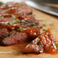 Roasted Red Pepper and Jalapeno Steak Sauce