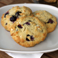 Cream Cheese Blueberry and White Choc Cookies
