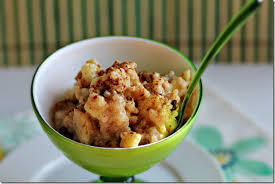Apple, Cinnamon Rice Pudding