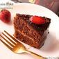 Dark Chocolate With Dark Chocolate Ganache Frosting