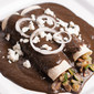 Enchiladas de Mole with Mushrooms and Zucchini – Recipe