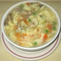 Egg Flower & Vegetable Soup