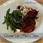 Inspired by Pinterest ~ Sesame Soy Pork Chops in the Crock Pot