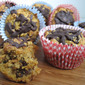 Chocolate Coated Carrot Cake (Muffins)