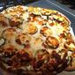 White Pizza with Shrimp, Ricotta, and Veggies