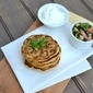 Corn & Scallion Pancakes