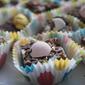 Dark Chocolate Fudge With Cadbury Mini Eggs And Sea Salt