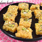 Kesar badam burfi ~How to blanch almonds- Indian sweet recipes