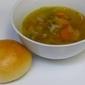 Turkey Soup & Homeade Buns