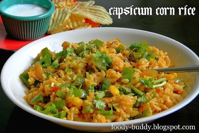 Capsicum Corn Rice
