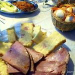 Sweet baked ham