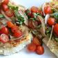 Panko-Crusted Fish with Tomato-Basil Relish