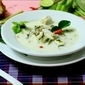 Tom Yum Goong (Coconut Milk Fish Tom Yum Soup)