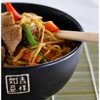 Quick and easy Noodles with Pork…..