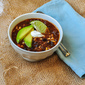 Black Bean Salsa Chili