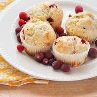 Cranberry Buttermilk Muffins