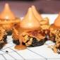 Pumpkin Spice Caramel Mini Cheesecake Bites