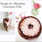 CHOCOLATE & STRAWBERRY MASCARPONE CAKE FOR PINK OCTOBER