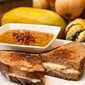 Creamy Winter Squash Soup and Fancy Grilled Cheese Sandwiches