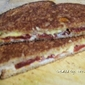 Horseradish, Sun-Dried Tomato, Colby Jack Grilled Cheese Sandwich