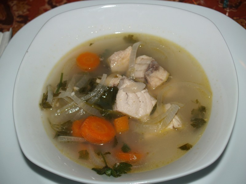Moroccan fish soup recipe by john cookeatshare for Fish broth recipe