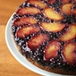 Suddenly Summer - Peach-Blueberry Upside Down Cake