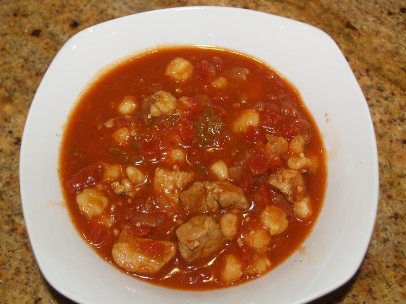 Pork and Hominy Chili